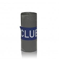 ClubCo Garbage Bags Heavy Duty 82L 760x1000mm (Grey)