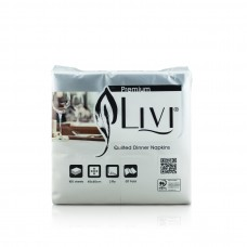 Livi Quilted Dinner Napkin 2 PLY 100s