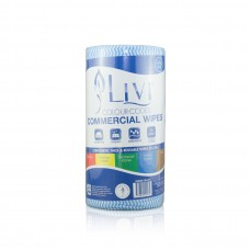 Livi Essentials Commercial Wipes Blue