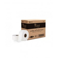 Livi Essentials Jumbo Roll Toilet Tissue 2 PLY 300m